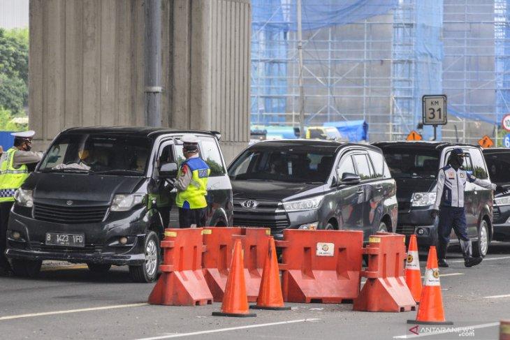 54.127 kendaraan diminta putar balik selama 39 hari Operasi Ketupat 2020