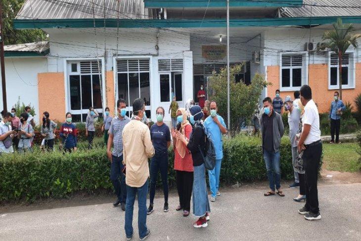 Tim medis RS GL Tobing mogok, pasien COVID-19 dipindahkan ke RS Marta Friska Medan