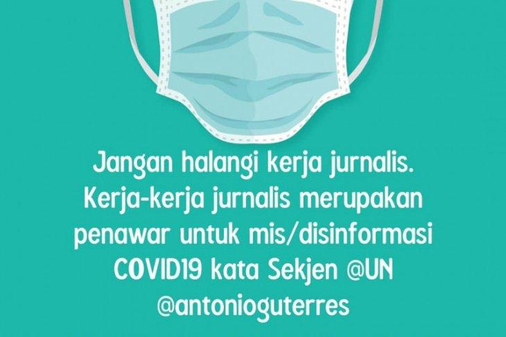 Inggris ajak Indonesia lindungi kebebasan pers di tengah pandemi COVID-19