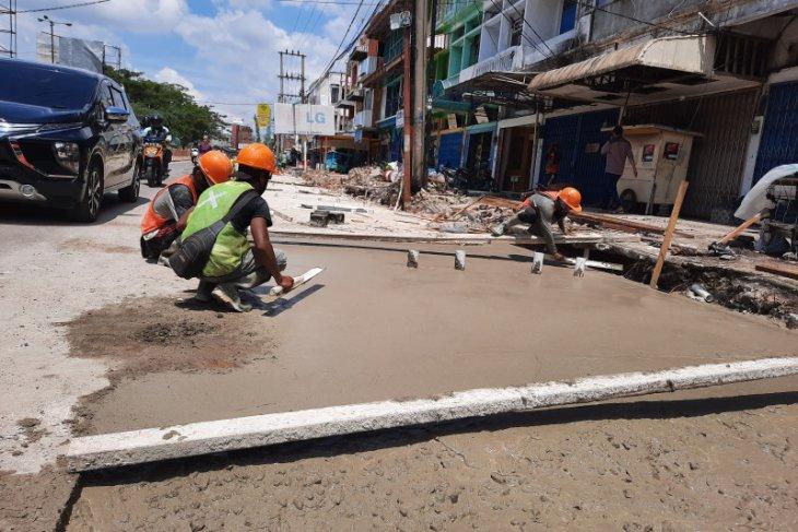 Proyek fisik Kota Jambi serap 30 persen pekerja sektor informal