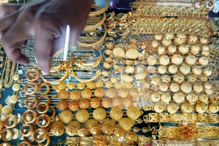 Harga perhiasan emas di Meulaboh turun menjadi Rp2,7 juta/mayam