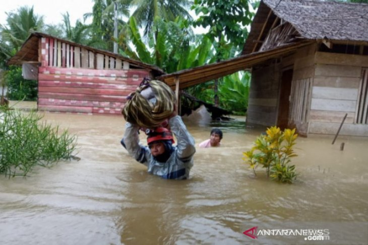 Ada lima Kabupaten di Sulteng dilanda banjir dalam sepekan