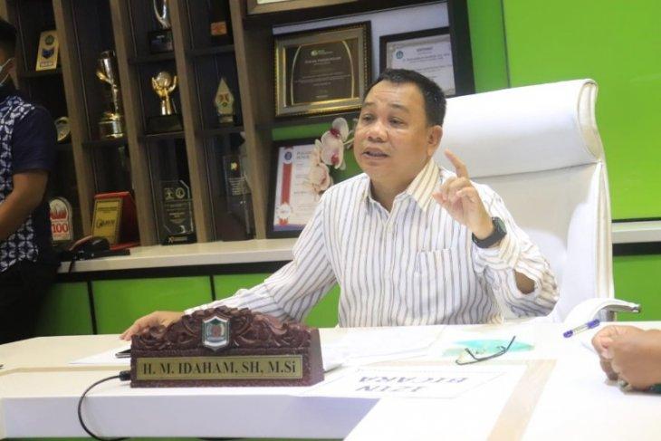 Gubsu sampaikan pemprov persiapkan Rp300 miliar JPS melalui video conference dengan Wali Kota Binjai