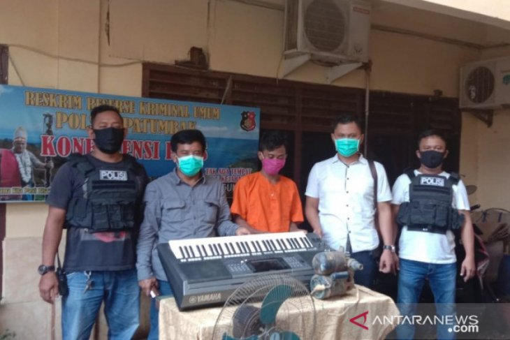 Polisi tembak pelaku pencurian di Gereja Patumbak