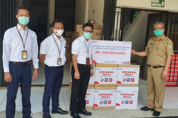 Pertamina berikan bantuan VTM pada Dinkes Kalbar senilai Rp200 juta