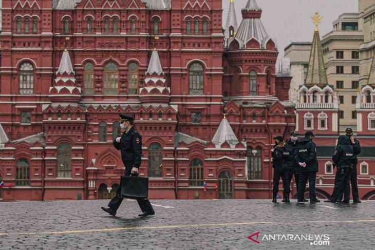 Lonjakan kasus COVID-19 Rusia mencapai 11.656 kasus  dalam 24 jam