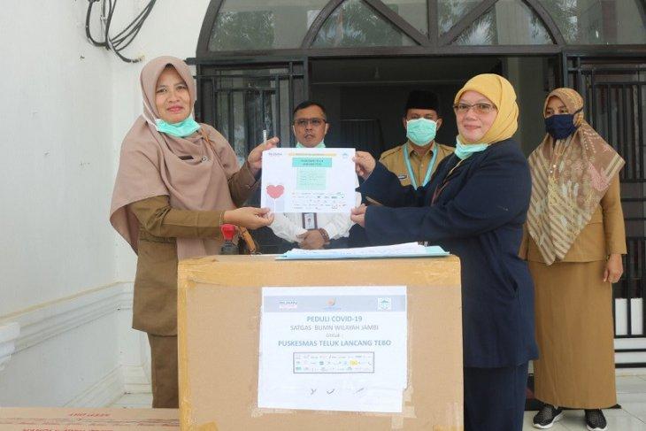 Taspen kirimkan bantuan BUMN Jambi ke RS dan Puskesmas di Tebo
