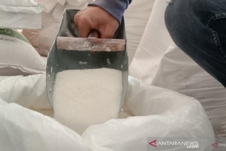 Harga gula pasir di pasar daring Rp14.900 per kilogram