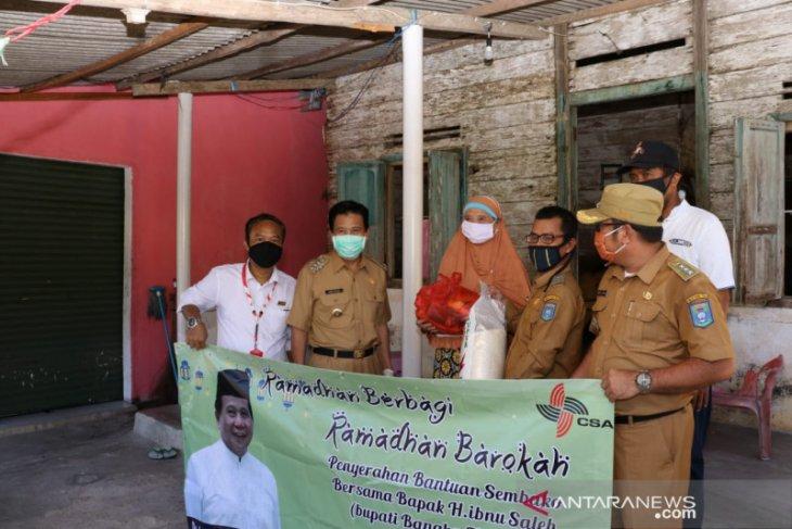 Pemkab Bangka Tengah salurkan 28.000 paket sembako warga terdampak COVID-19