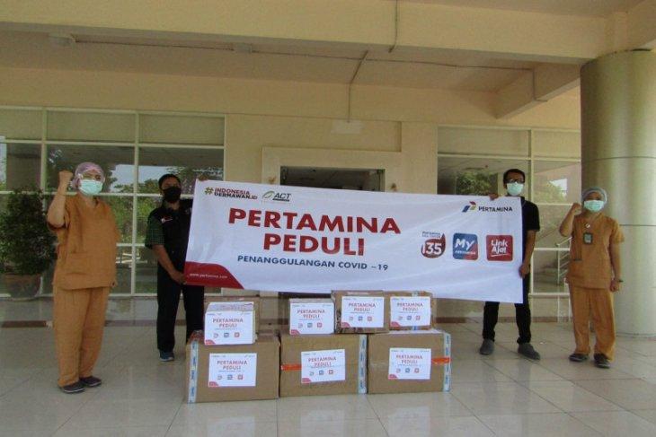 Pertamina beri ratusan APD ke RS Rujukan di Jatim-Bali-NTB
