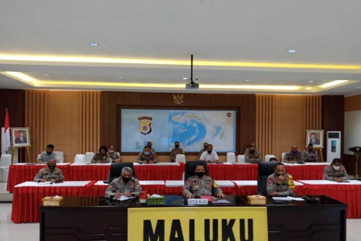Kapolda Maluku  Wakapolri ingatkan awasi distribusi bansos