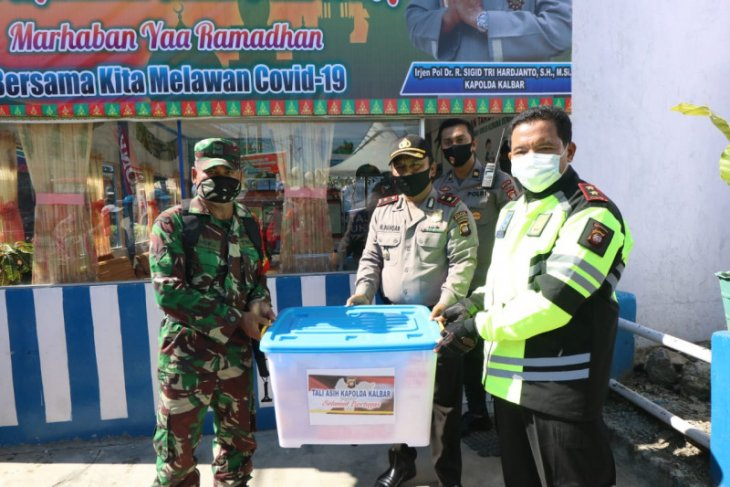 Kapolda Kalbar lakukan pengecekan Pos Pengamanan di Polres Mempawah dan Landak