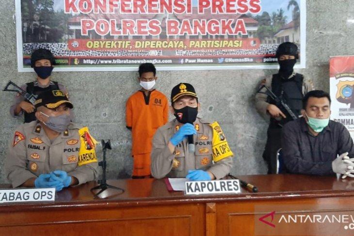 Polres Bangka tangkap pelaku pembunuhan Tok Gaul