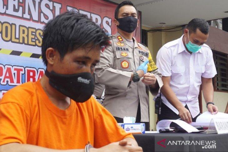 Polisi tangkap narapidana bebas asimilasi