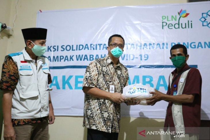 YBM PLN Kalbar salurkan bantuan 1.441 paket sembako
