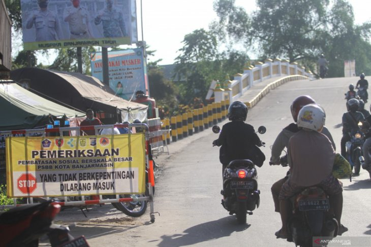 PSBB di Kota Banjarmasin belum mampu redam lonjakan kasus COVID-19