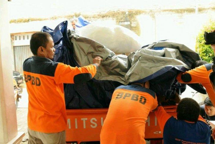 BPBD Lebak salurkan logistik bagi korban banjir di Banjarsari
