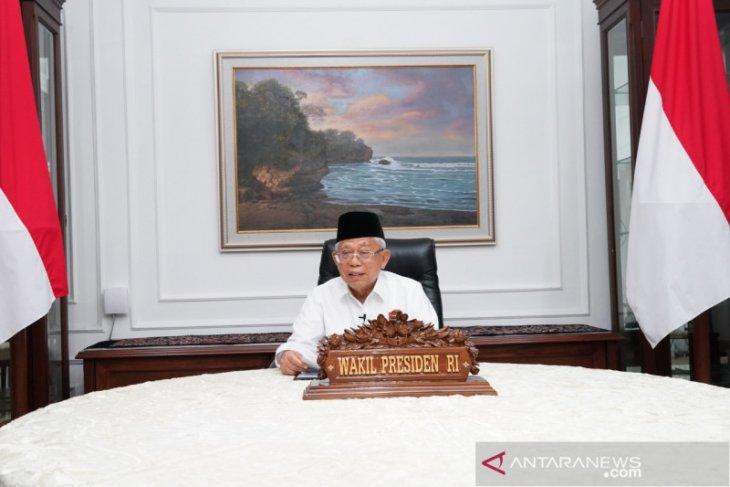 Wapres Ma'ruf Amin tak selenggarakan gelar griya Lebaran 2020