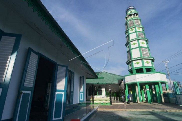 Cagar budaya Masjid Tua Wani di Donggala
