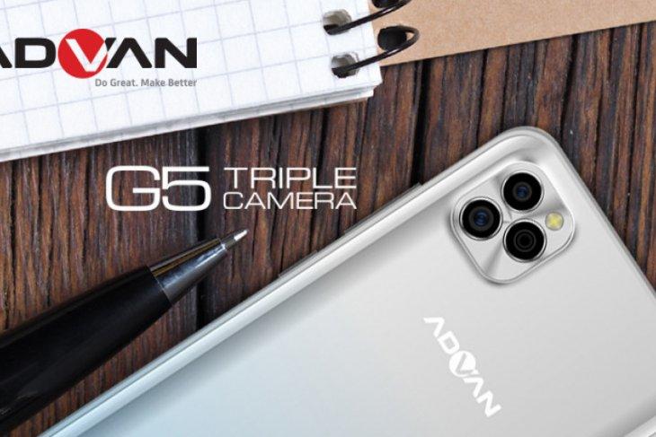 Advan G5 hadirkan ponsel berteknologi tiga kamera