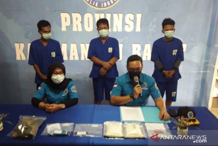 BNN Provinsi Kalbar gagalkan penyelundupan satu kilogram sabu antarprovinsi