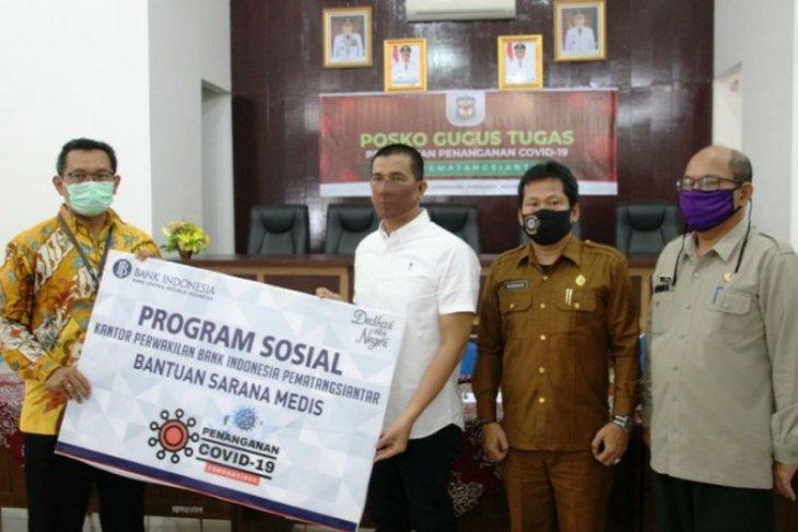 Bank Indonesia donasikan APD dan Sembako ke Gugus Tugas Pematangsiantar