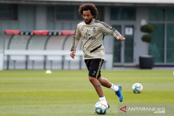 Real Madrid kembali jalani latihan di fasilitas klub