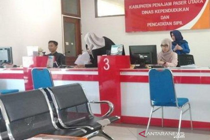 Ratusan penduduk Kabupaten Penajam masih pegang suket pengganti KTP elektronik