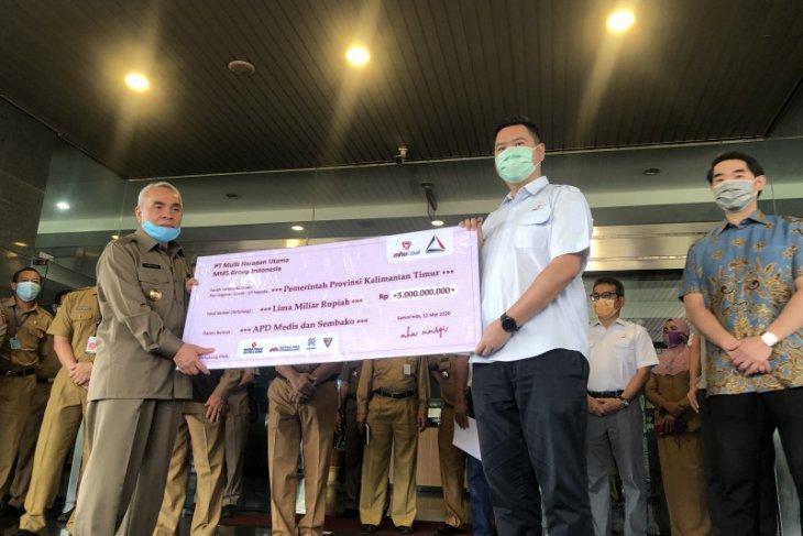 PT MHU-MMSGI beri bantuan sembako dan APD senilai Rp5 miliar