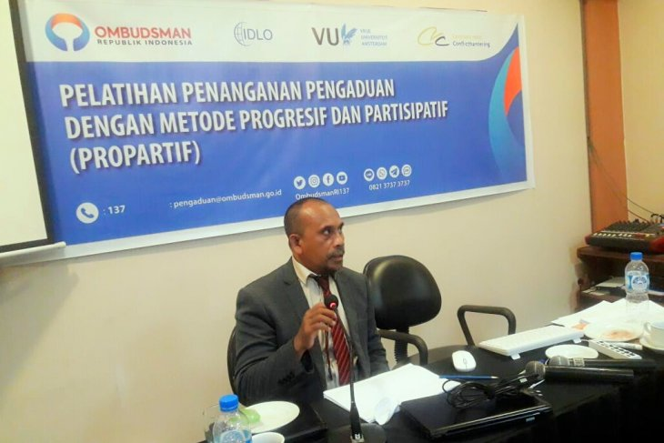 Ombudsman  Penanggulangan dampak COVID-19 di Maluku masih lambat