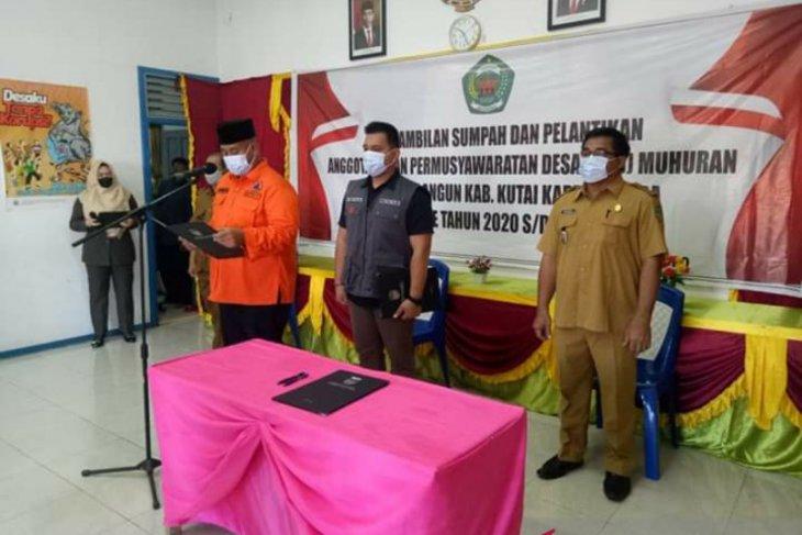 Edi Damansyah minta BPD Desa Muhuran dukung revisi APBDes untuk COVID-19