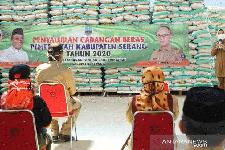 Pemkab Serang serap beras