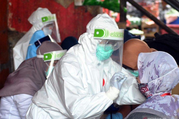 Kasus positif corona di Kota Bogor semakin melandai