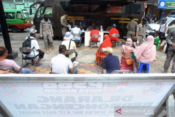 Sanksi pelanggar PSBB tahap III di Kota Bogor diberlakukan mulai hari keempat