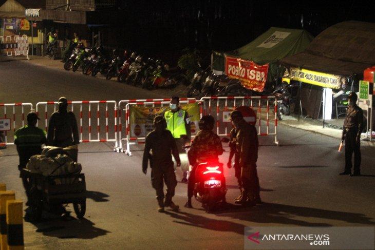 Pemberlakuan Jam Malam di Pos PSBB Sungai Lulut