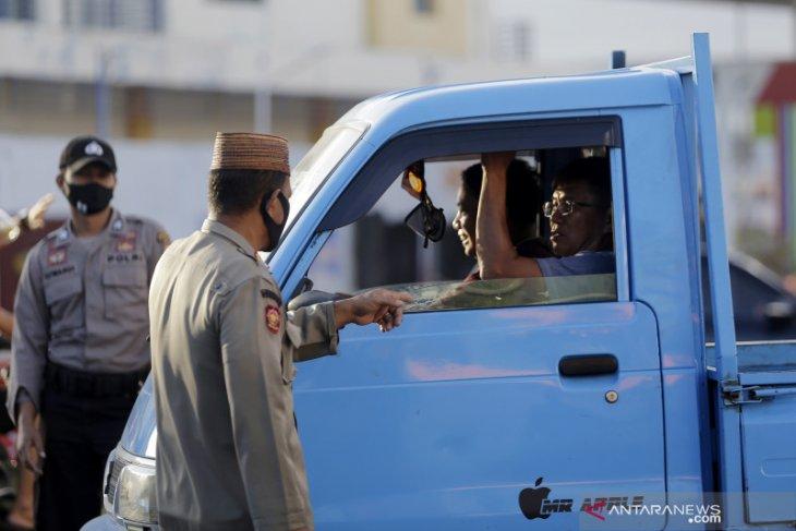 Warga berupaya kelabui petugas di perbatasan saat PSBB Gorontalo