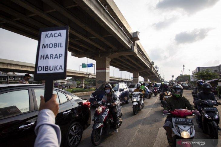 21 titik pemeriksaan keluar-masuk Jakarta