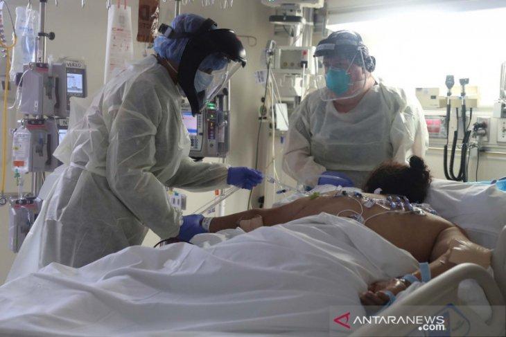 Jumlah pasien COVID-19 di RS Amerika meroket hingga 40.000 orang