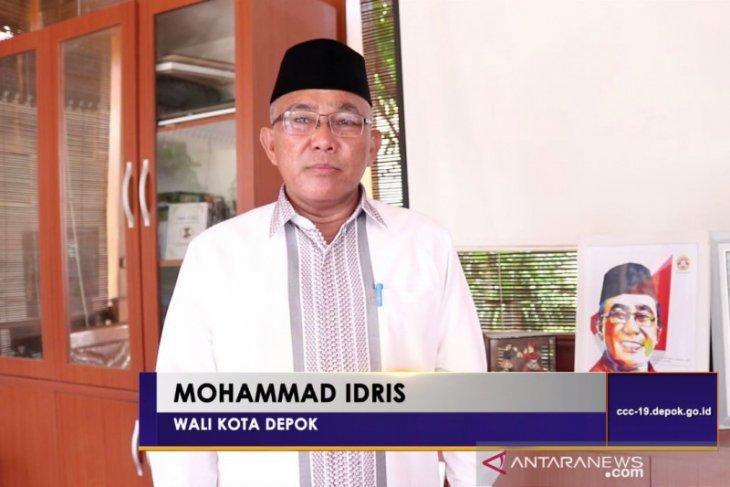 Wali Kota Depok, Mohammad Idris tugaskan kepala OPD turun langsung awasi PSBB