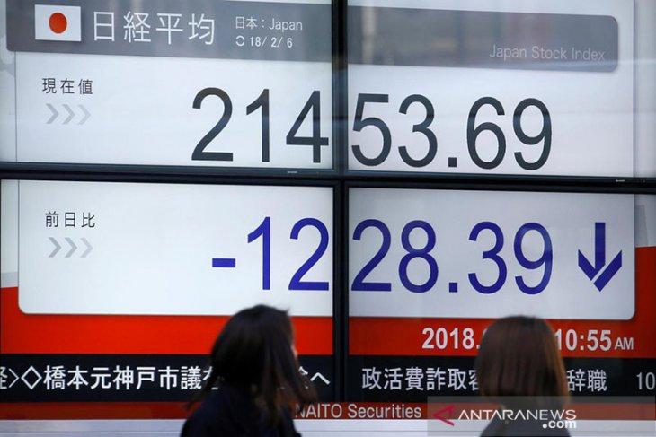 Saham Tokyo ditutup lebih rendah akibat penguatan yen