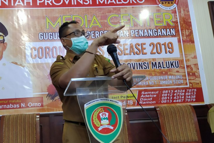 Ketua Harian GTPP Maluku akui istri positif COVID-19