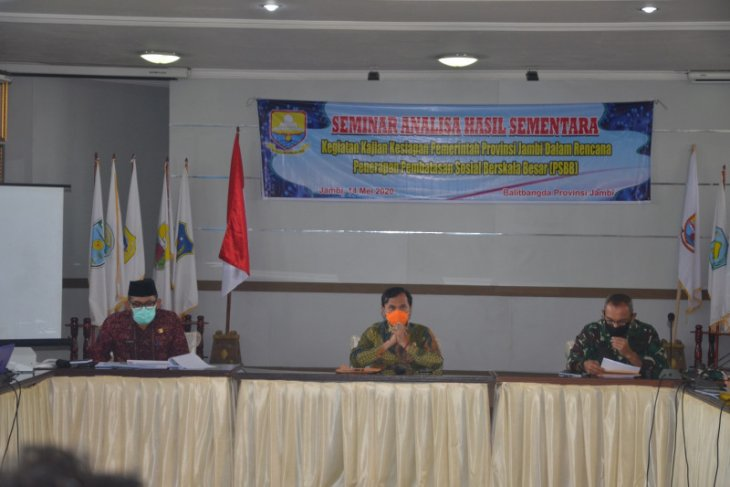 Penjabat Sekda: PSBB belum perlu diberlakukan di Jambi