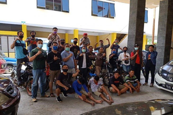 Narapidana asimilasi di Bengkulu ditangkap bersama barang bukti 11 motor