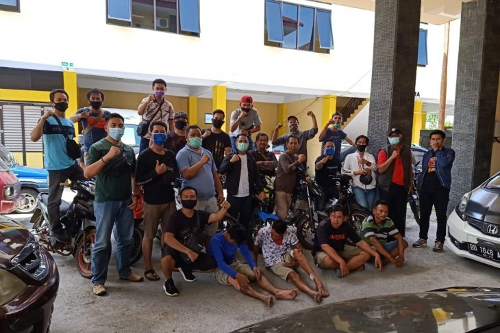 Napi asimilasi di Bengkulu ditangkap terlibat curanmor, ada 11 unit motor sebagai barang bukti