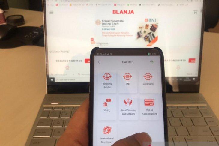 BNI catat transaksi mobile banking Rp103,4 triliun selama COVID-19