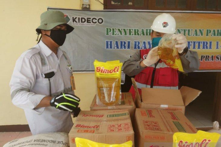 Kideco Salurkan 15.500 Paket sembako Jelang Idul Fitri