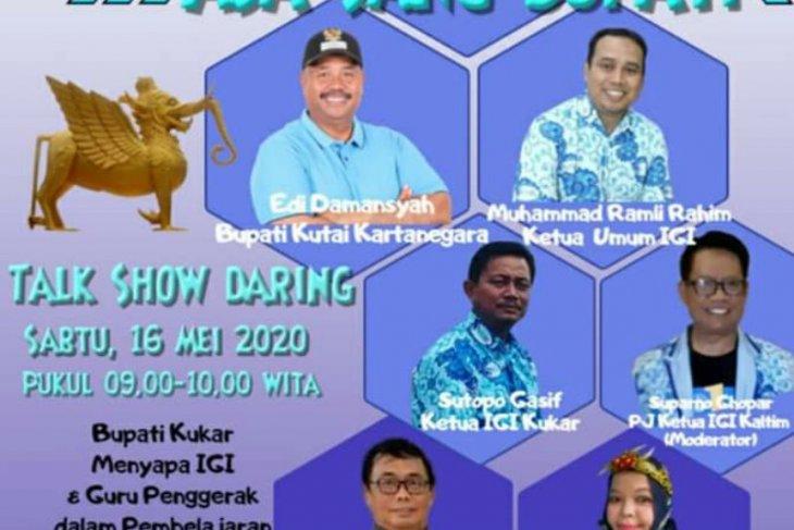 Bupati Sapa Guru Penggerak Kutai Kartanegara Via Youtobe Kota Raja Channel