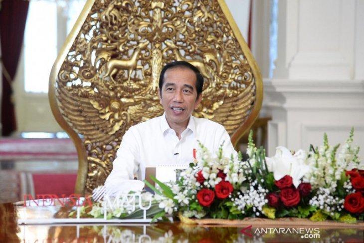 Presiden Jokowi jelaskan mengenai kehidupan normal baru di tengah pandemi