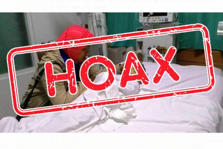 Pihak RS Bergerak Badau lapor polisi terkait informasi hoaks di medsos