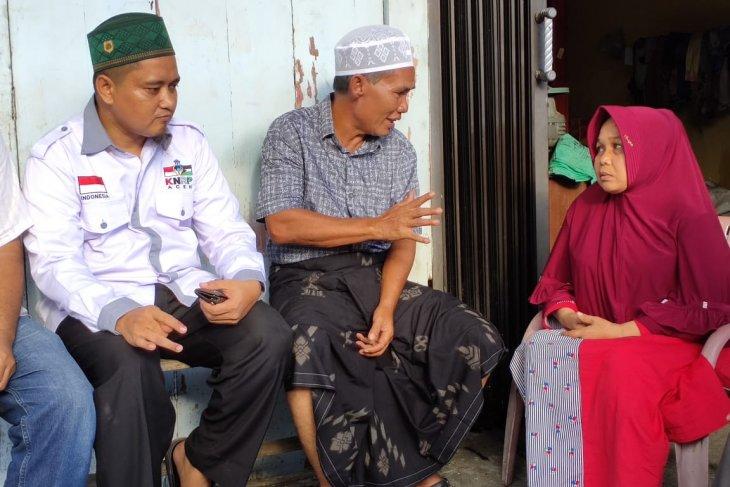 Bupati Abdya kunjungi korban kebakaran di Desa Meudang Ara